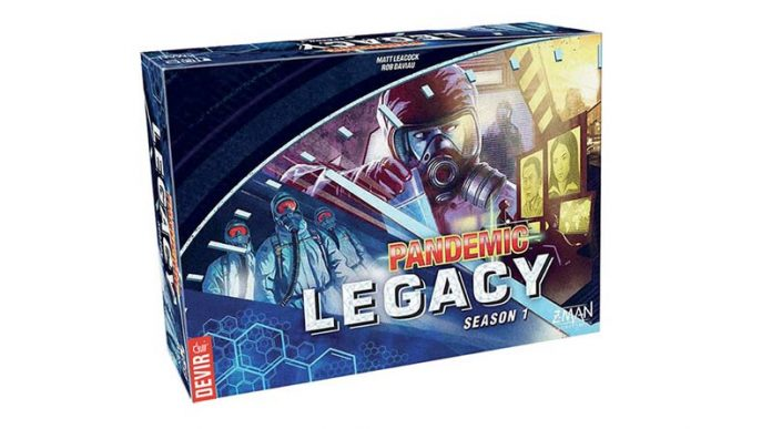 Pandemic Legacy Galardonado con el juego del año 2016