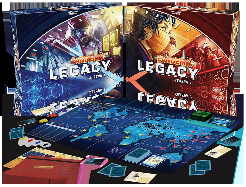 Juego Pandemic Legacy