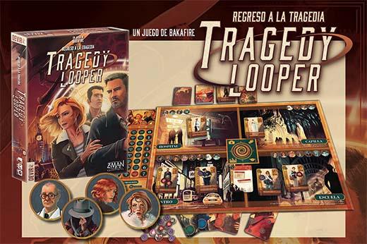 Componentes de la edición española de Tragedy looper