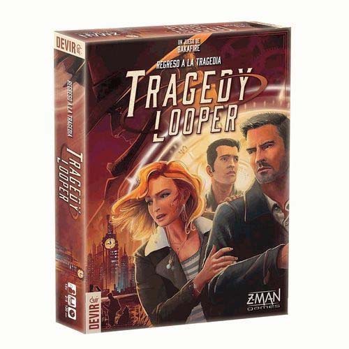 Portada en castellano de Tragedy looper