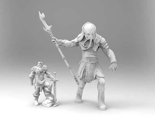 Comparación de talla de la miniatura de Yogah de Yag