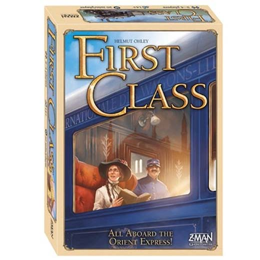 Portada de First Class: A Journey On The Orient Express