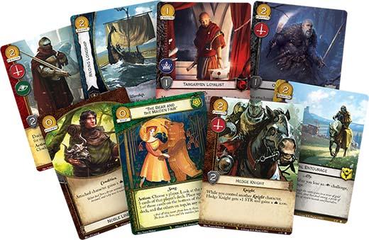 cartas de la valyrian Draft de juego de tronos