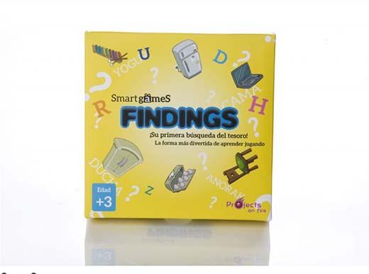 Portada de fIndings, el nuevo juego de Smart Games
