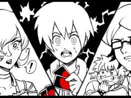 Fotograma del anime de uno