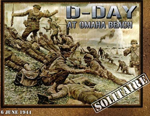 Portada del War Game D-Day at Omaha Beach