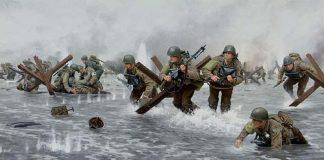 War games en solitario Ilustración del día D