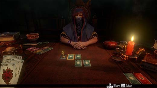 El Dealer de Hand of Fate