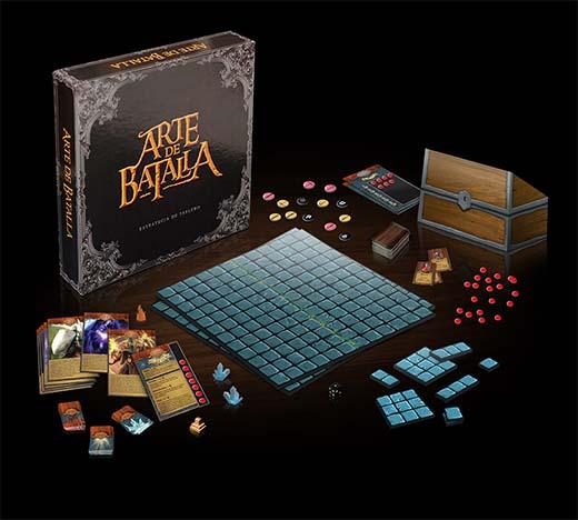 Componentes del juego argentino arte de batalla