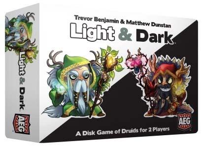 Caja del juego de mesa para dos jugadores Light and dark
