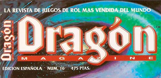 logotipo de la revista Dragón