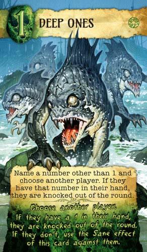 Cartas de profundos de Lovecraft Letter