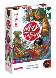 Caja de la edición de Iello de Ninja Taisen