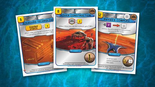cartas azules de terraforming mars