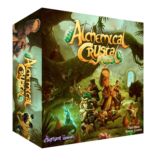Portada de Alchemical Crystal Quest