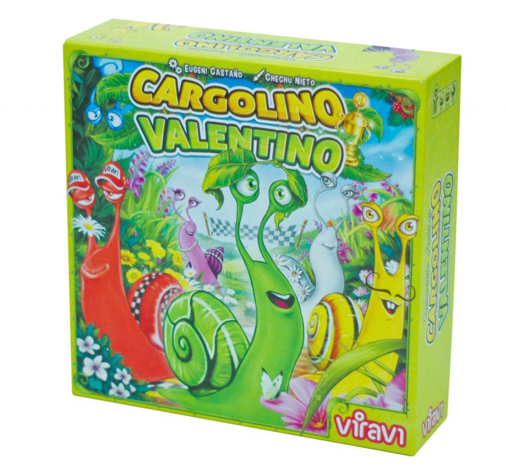 Caja del juego Cargolino Valentino
