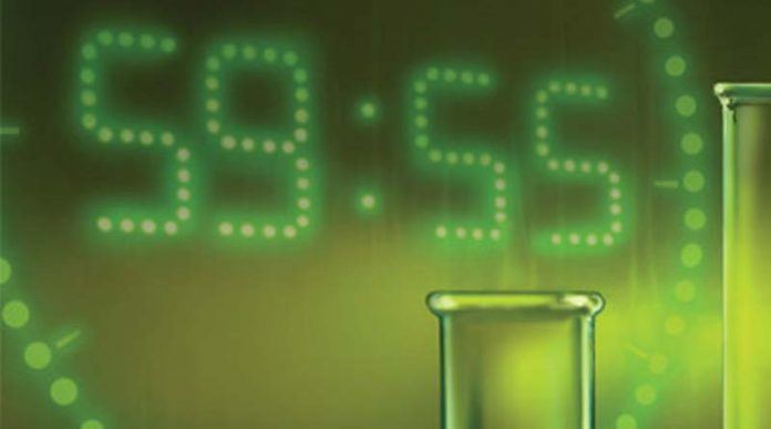 Fragmento de la portada del juego de mesa escape room The Secret Lab