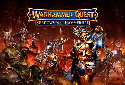 Portada de warhammer quest shadows over hammerhal