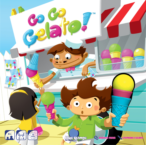Portada de Go Go Gelato de Blue Orange Games