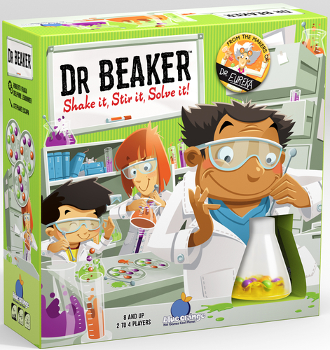 Portada de Dr. Beaker de Blue Orange Games