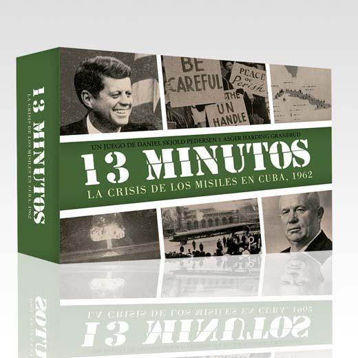 Portada de 13 minutos: La crisis de los misiles de Cuba