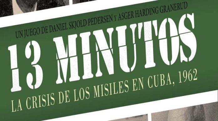 Logotipo de 13 minutos: La crisis de los misiles de Cuba