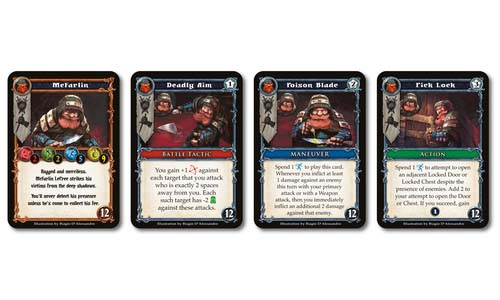 Cartas de Dungeon Alliance
