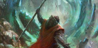Detalle de la portada del juego de rol Kyrie