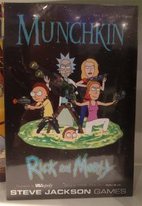 Portada de Rick and Morty Munchkin
