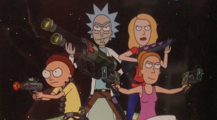 Detalle de la portada de Rick and Morty Munchkin