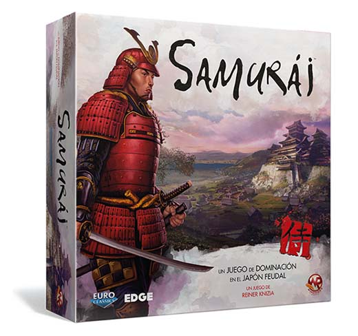Portada de la edición en castellano de Samurai