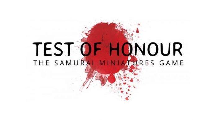 Logotipo de Test of Honor el nuevo juego de Warlord Games