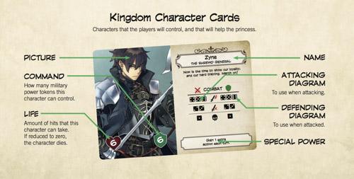 Carta de personaje aliado de Unicornus Knigt