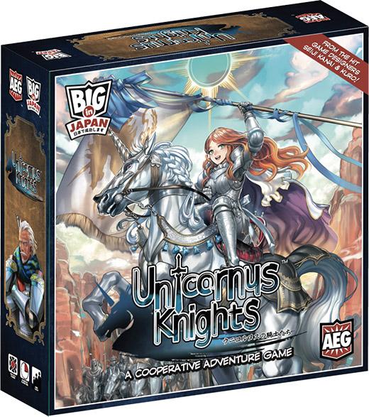 Portada de Unicornus Knight