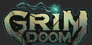 Logotipo de Grim Doom