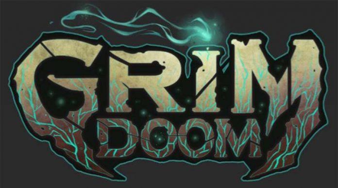 Logotipo de Grim Doom