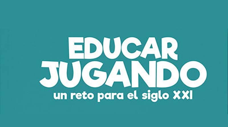 logotipo del libro educar jugando