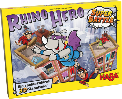 Portada de Rhino Hero Super Battle