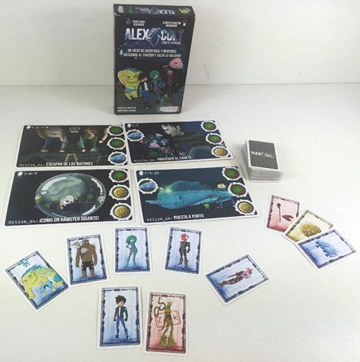 Componentes de Alex Colt Cadete espacial