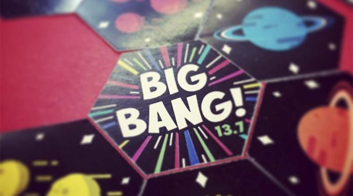Loseta inicial de Big Bang 13.7
