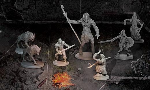 Miniaturas del juego de mesa Conan