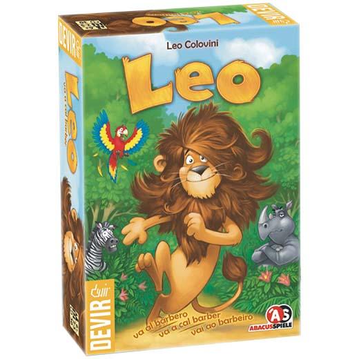 Portada del juego de memoria para niños Leo