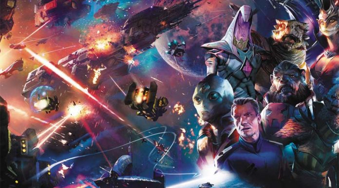 Arte gráfico de master of orion conquest