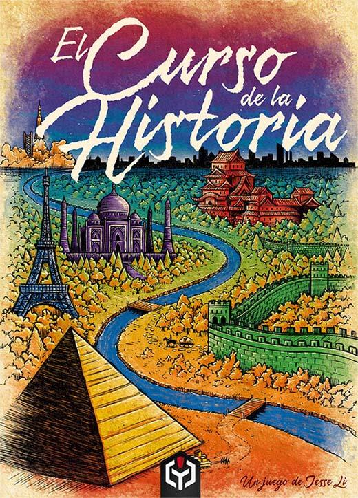 Portada provisional de la edición de Ludosentinel de El Curso de la historia