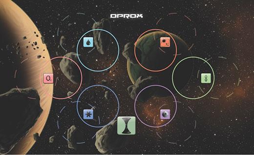 Cartas de planetas de WORLDS