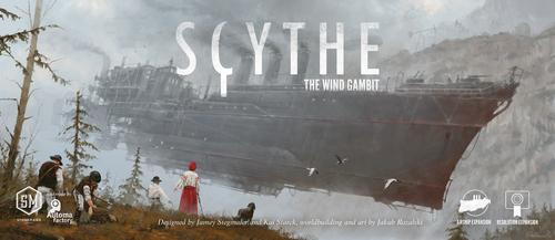 Portada de la expansión de Scythe the wind gambit