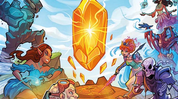 Fragmento de la portada de crystal clans