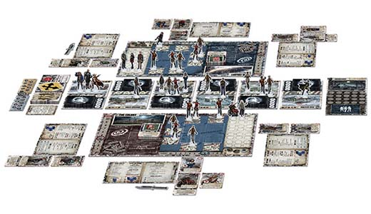 Componentes de dead of Winter:Warring Colonies