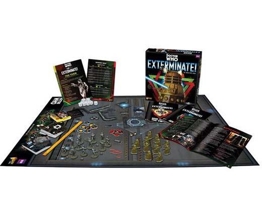 Componentes de Exterminate para el juego de miniaturas del doctor Who