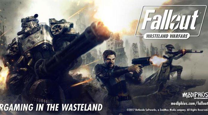 Ilustración del juego de miniaturas Fallout: Wasteland Warfare